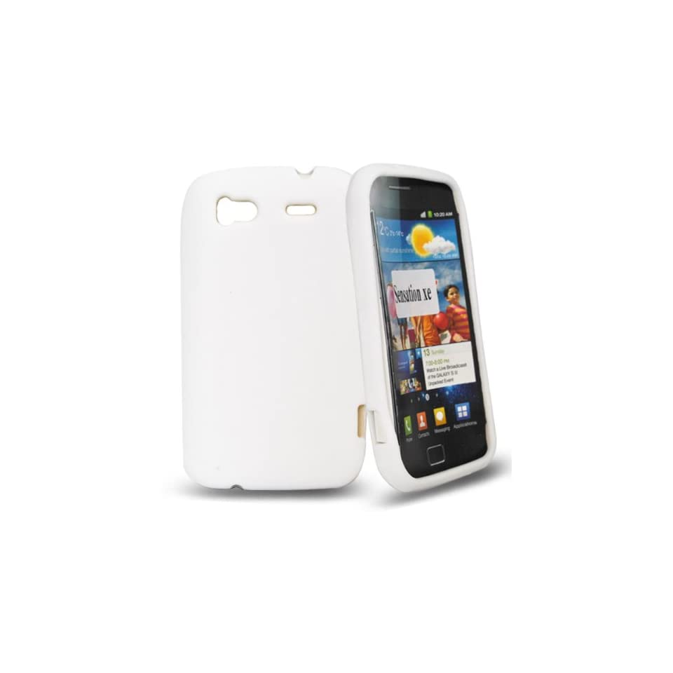 Palace white silicone case cover for htc sensation xe Electronics
