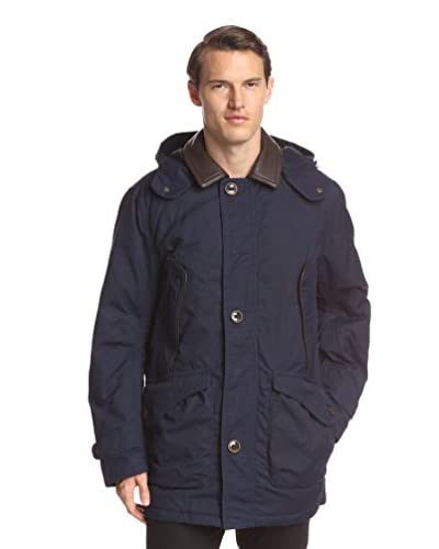 Rainforest Men's Waxed Canvas Down Filled Coat