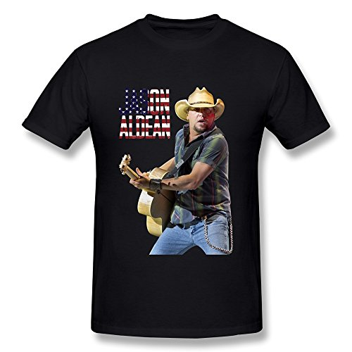 FHY Men's Jason Aldean T-shirts X-Large ColorBlack (Ticket To Heaven Clothing compare prices)