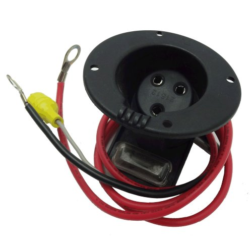 Club Car 48 Volt Charger Receptacle And Fuse Assembly | Electric Golf Cart Parts