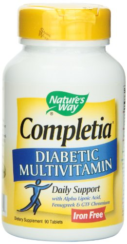 Nature's Way Completia Diabetic Multivitamin , 90 Tablets