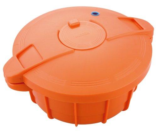 Mpc-2.3Or Orange Microwave Pressure Cooker Meyer