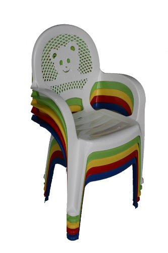 Resol childrens kids garden outdoor plastic chairs table for Childrens garden chairs