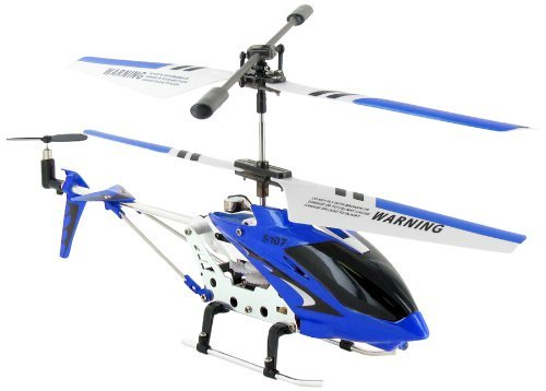 World Tech Toys Phantom S107 R/C Helicopter (Colors May Vary) with Mini Tool Box (fs)