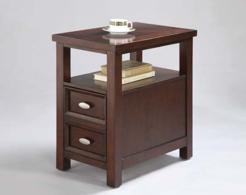 Crown Mark Pierce Side Table Two Drawers Sale Weather