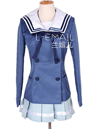 Girls Sailor Uniform Cosplay Costume Dress M Size