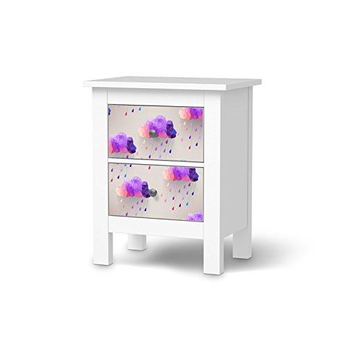 Möbelfolie für IKEA Hemnes Kommode 2 Schubladen  Deko ...
