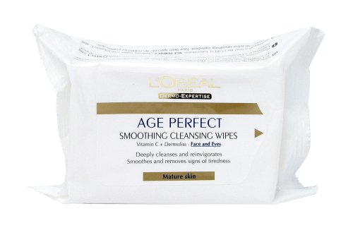 L'Oreal Age Perfect Wipes 77046 174ml