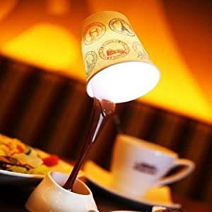 HeroNeo® Novelty DIY LED Table Lamp Home Romantic Pour Coffee Usb Battery Night Light from HeroNeo®
