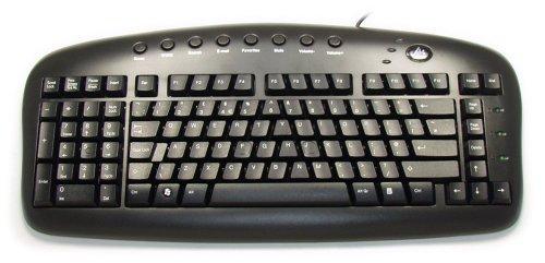 Black Left-Handed Keypad Keyboard