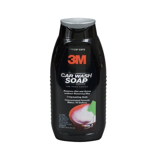 3M Car Wash Soap, 16 fl oz Bottle