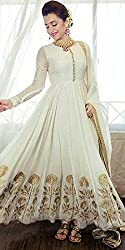 Shree Fashion Women's Georgette Unstitched Dress Materials [D121]