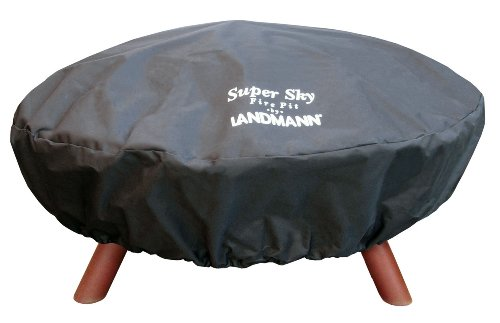 Outdoor Furniture All Weather Fire Pit Cover In Green