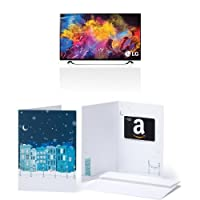 LG Electronics 60UF8500 60-Inch 4K Ultra HD 3D Smart LED TV and $150 Amazon.com Gift Card<br />