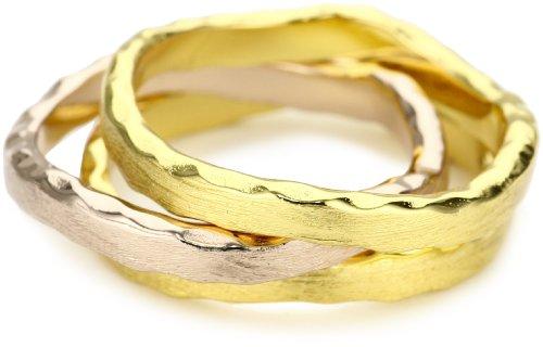 gorjana Eden Stack Ring Set, Size 7