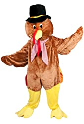 Thanksgiving Turkey Mascot Costume Set