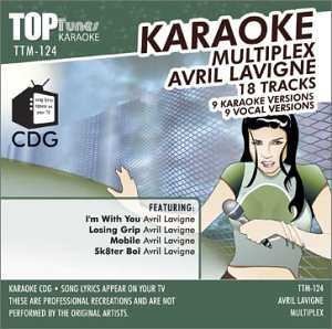 Avril Lavigne - Avril Lavigne Karaoke Top Tunes CDG  TTM-124 - Zortam Music