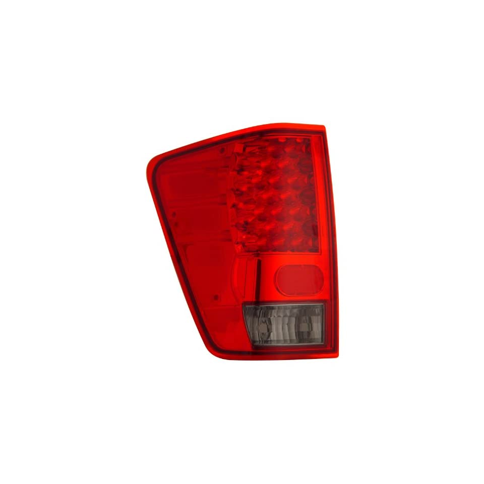 Nissan Titan 04 06 Led Tail Lamps / Lights Red/Smoke Euro Performance