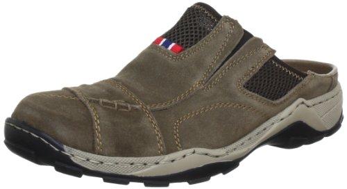 Rieker 08097, Sabot uomo, Marrone (Braun (mud/kastanie 26)), 41