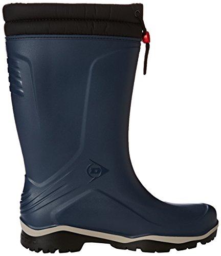 Dunlop Blizzard blau, Winter Gummistiefel, 42 -