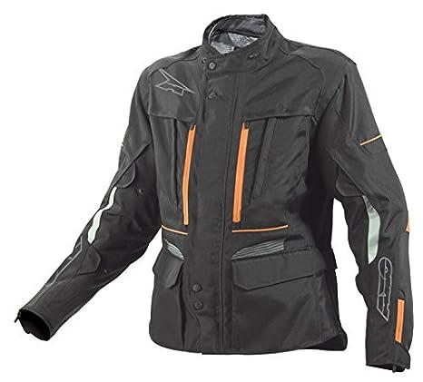 AXO MS6T0133-KO Kalahari Veste, Taille L, Noir/Orange