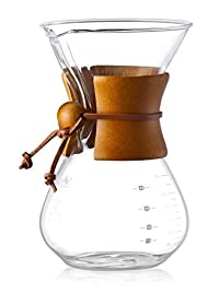 Diguo Glass Coffee Maker Classic Series Glass Coffeemaker (600ml/20oz/4 Cup)