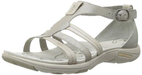 Merrell Women'S Cantor Lavish Sandal,Aluminum,9 M Us front-548507
