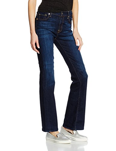 7 For All Mankind Bootcut, Blu Donna, Blau (Nyd WC), 32 W/30 L