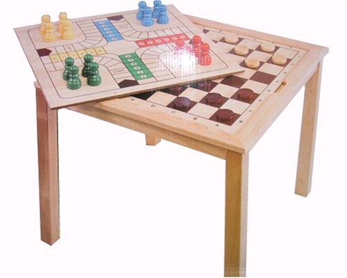 3 in 1 Games Table (Chess, Draughts and Ludo)