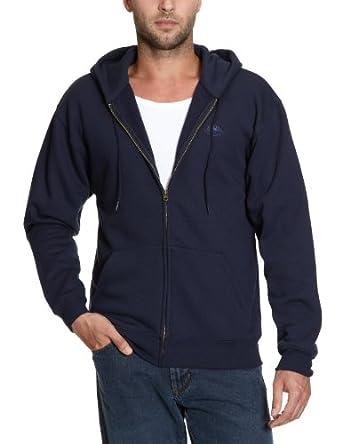 Fruit of the Loom - Sweat-shirt - Bleu (Az Dunkelblau) - Taille S (DE: 44/46)