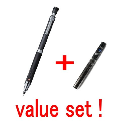 with our shop original product description Uni Kurutoga Auto Lead Rotation Mechanical Pencil 0.5 mm Rubber Grip Type //Pink Body//with the Spare 20 Leads Only for Kuru Toga Value Set