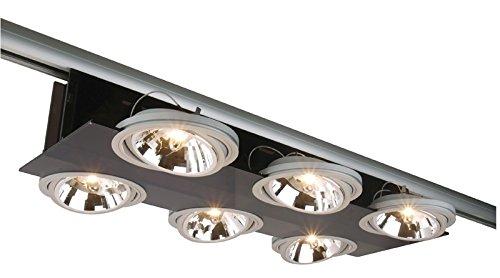 Deko-Light Schienensystem 3-Phasen 230 V, Parasol III, 220-240 V AC/50-60 Hz, G53 / QR111, 35 W 003406