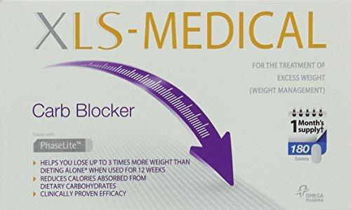 XLS-Medical Blocca Carboidrati Perdita Del Peso Soccorso - 180 Compresse