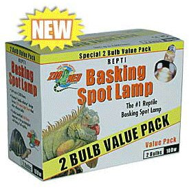 Zoo Med Reptile Basking Spot Lamp 50 Watts 2 Bulb Value Pack (50 Watt Heat Lamp compare prices)