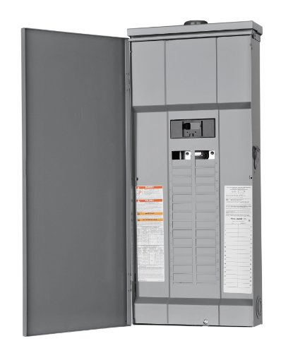 Square D By Schneider Electric Hom30M150Rb Homeline 150-Amp 30-Space 30-Circuit Outdoor Main Breaker Load Center