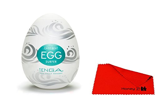 HE24242 TENGA - EGG SURFER (6 PIECES) MASTURBATORS SEX TOYS а tenga 3d polygon