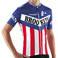 Giordana 2014 Men's Brooklyn Team Short Sleeve Cycling Jersey - Blue - GI-SSJY-TEAM-BROK
