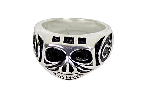 Jack Sparrow Skull Ring Stainless Steel (US 10) (Jack Sparrow Skull Ring compare prices)