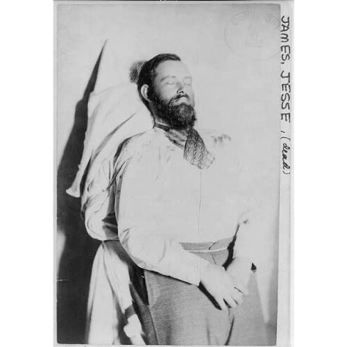 Amazon.com: Photo: Jesse Woodson James, 1847-1882, Dead, American