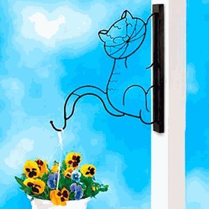 Cat Wall Plant Hanger