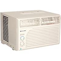 Cool Living 5000 BTU Manual Compact Window Air Conditioner (White)