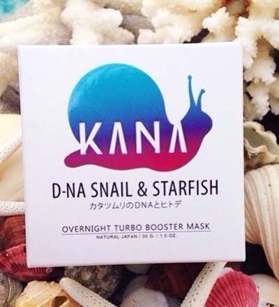 Kana D-Na Snail Secretion Filtrate Starfish Cream Mask Reduced Fine Line 30G. front-491515