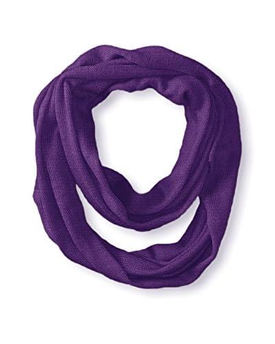 Portolano Women's Infinity Scarf, Purple