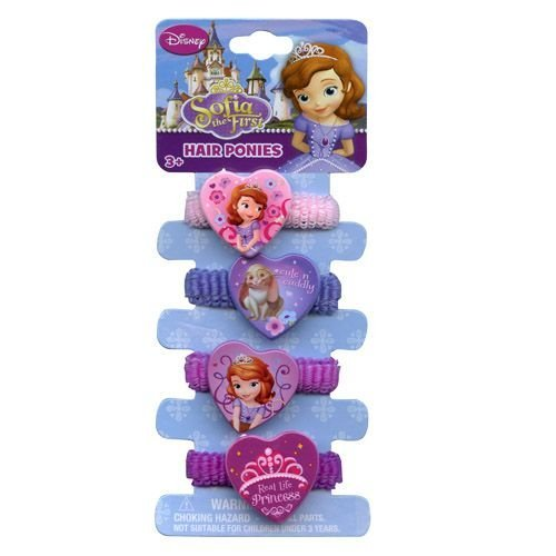 Sofia The First Hair Ponies - 1