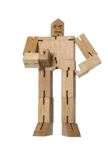 Areaware Micro Julien Cubebot Natural Puzzle - 1