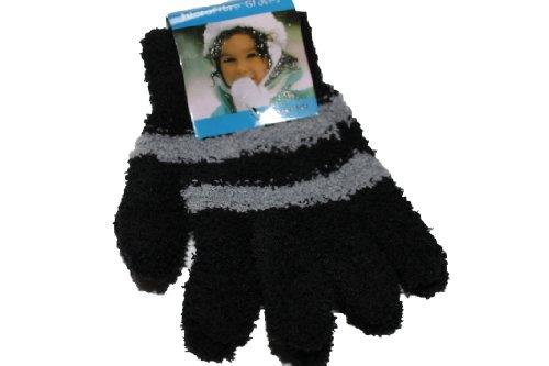 Girls Luxury Cosy-Feel Soft Gloves(BLACK)