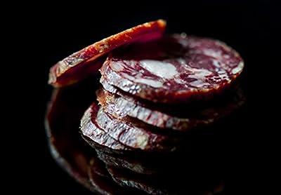 Artisanal Salchichón 100% Ibérico De Bellota. Gourmet Dry-cured Acorn-fed 100% Ibérico Salami