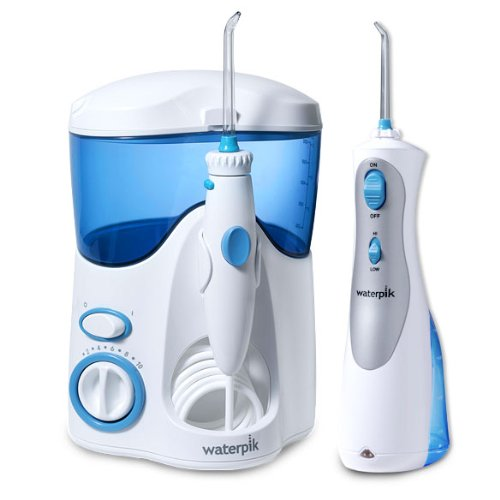Waterpik Waterflosser Ultra And Waterpik Cordless Plus Combo Pack Includes 12 Accessory Tips & Travel Case