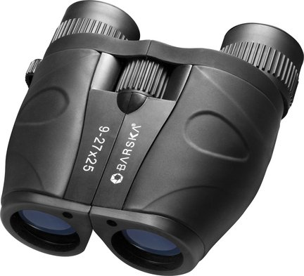 Barska Gladiator 9-27X25 Compact Zoom Binocular