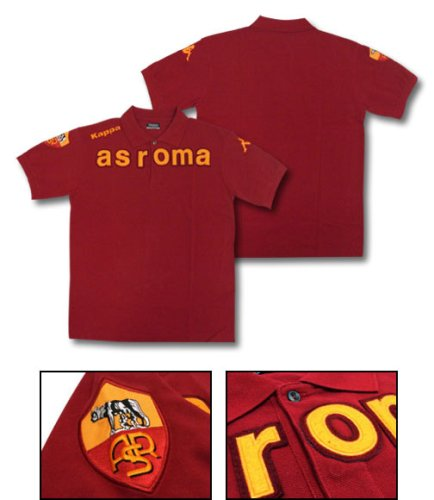 AS Roma 08/09 Team Soccer Polo Shirt